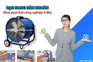 Quạt Hút Công Nghiệp Giá Rẻ Tại Bắc Ninh
