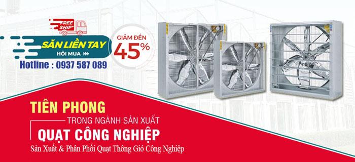 Tiêu chí lựa chọn quạt thông gió vuông tại Nam Định