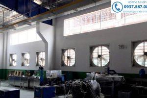 Sản xuất, phân phối quạt thông gió vuông công nghiệp uy tín, giá rẻ