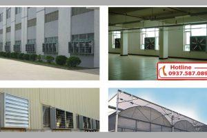 Chức năng quan trọng của quạt thông gió công nghiệp vuông
