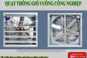 Quạt thông gió vuông công nghiệp tại Thanh Hóa