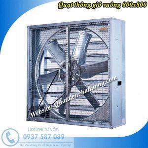 Quạt thông gió vuông 800x800