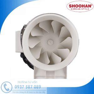 Quạt hút nối ống siêu âm Shoohan HF-125