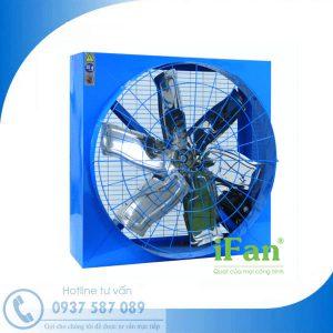 Quạt thông gió vuông hai mặt lưới iFAN 106D