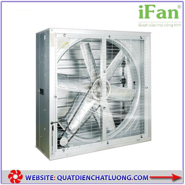 Quạt thông gió vuông gián tiếp iFAN 106C