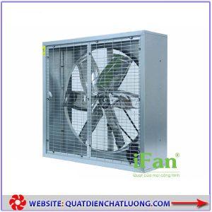 Quạt thông gió vuông hai mặt lưới iFAN 122D