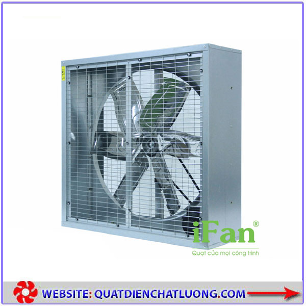 Quạt thông gió vuông hai mặt lưới iFAN 90D