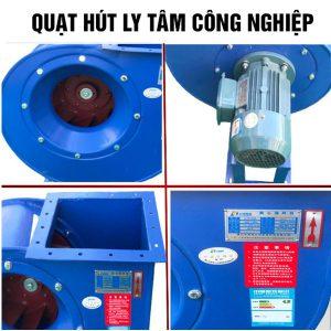 Quạt hút ly tâm gián tiếp cao áp QLTG-2P-05