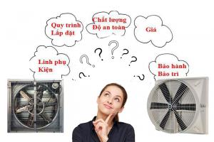 Tìm mua quạt hút công nghiệp tại Hà Nội ở đâu?