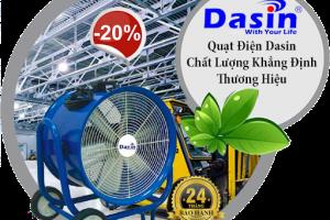 Thông số quạt hút công nghiệp Dasin Hồ Chí Minh